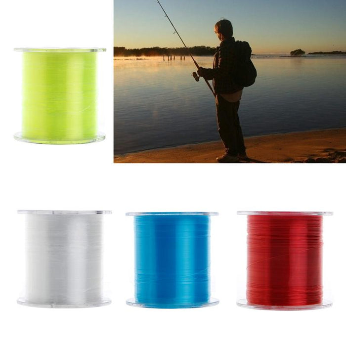 500M Super Strong Fishing Line Japan Monofilament Lake Sea Nylon Lines Tackles-Ali J S Store-Fluorescent Yellow-0.4-Bargain Bait Box