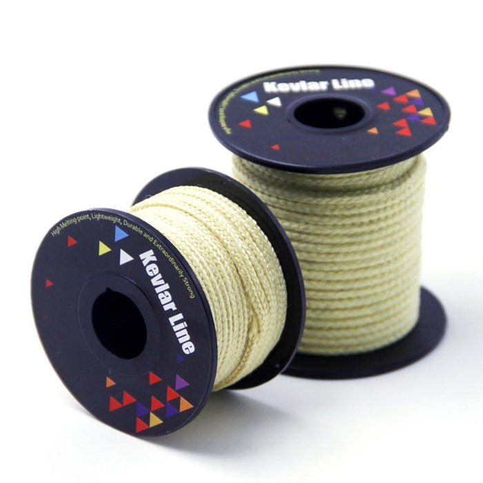 50Ft / 15M 2000Lbs Braided Kevlar Fishing Line Outdoor Camping Cord Garden-Goodmakings Outdoor Store-Bargain Bait Box