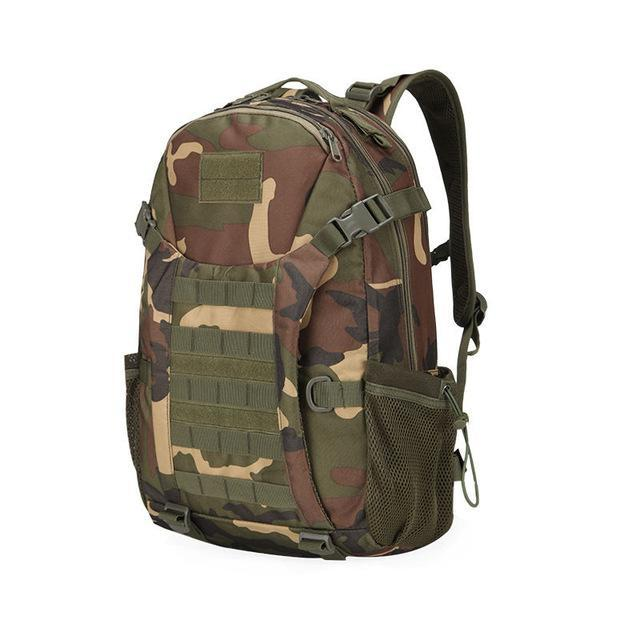 affa800592e4 50L Molle Camping Rucksack Tactical Military Backpack Bags Waterproof-Vanchic  Outdoor Store-Jungle Camo