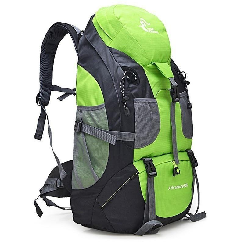 50L Waterproof Hiking Backpack Men Trekking Travel Backpacks For Women Sport Bag-Climbing Bags-Outdoor Explorer Club Store-Black-China-Bargain Bait Box