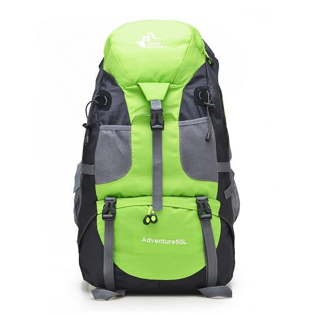50L Waterproof Hiking Backpack Men Trekking Travel Backpacks For Women Sport Bag-Climbing Bags-Outdoor Explorer Club Store-Green-China-Bargain Bait Box