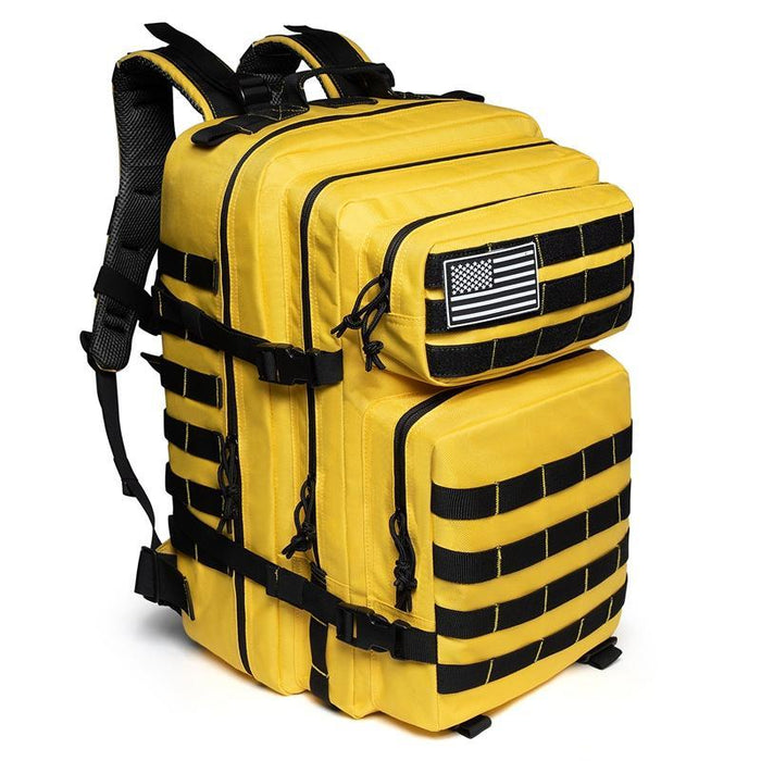 50L Waterproof Military Tactical Backpack Trekking Hiking Backpack Camping For-Home-Outdoor Explorer Club Store-Yellow-China-Bargain Bait Box