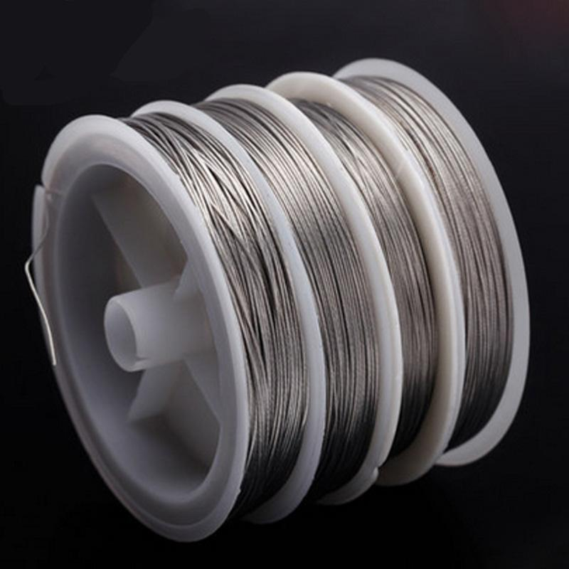 50M Fishing Stainless Steel Wire Fishing Lines 10M Max Power 7 Strands Soft Wire-Rompin Fishing Tackle Store-0i30mm-Bargain Bait Box