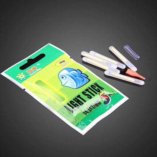 50Pcs 4.5*37Mm Fishing Luminous Float Night Fluorescent Light Float Glow Fishing-Glow Sticks-Bargain Bait Box-Bargain Bait Box