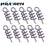 50Pcs/Lot Spring Lock Pins Stainless Steel Soft Bait Lure Spring Lock Pin-WDAIREN KANNI Store-Bargain Bait Box