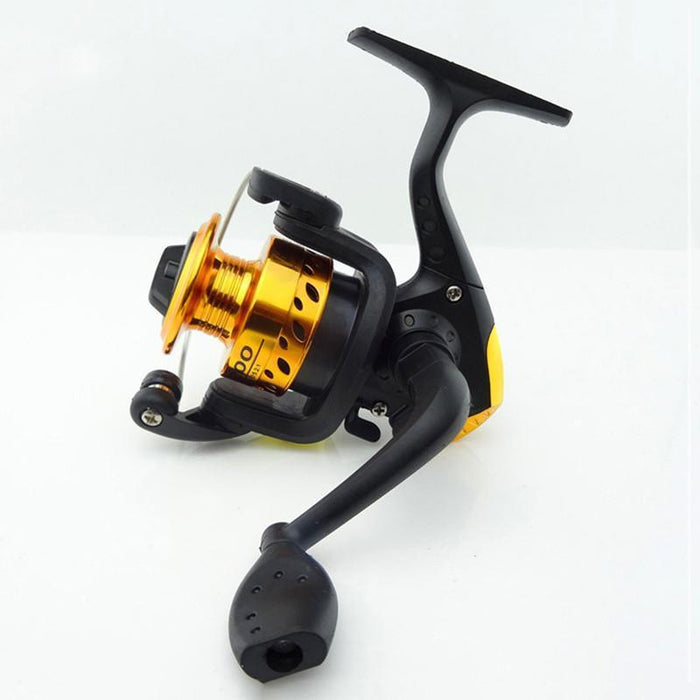 5.2:1 Pre-Loading Spinning Fishing Reel Metal Head Multi-Speed Foldable Handle-Spinning Reels-MASALING CO.,LTD-Bargain Bait Box