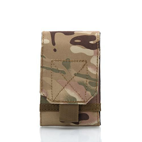5.5-6.0 Inches Holster Molle Army Camo Camouflage Bag Hook Loop Belt Holster-To Be Well Store-4-Bargain Bait Box