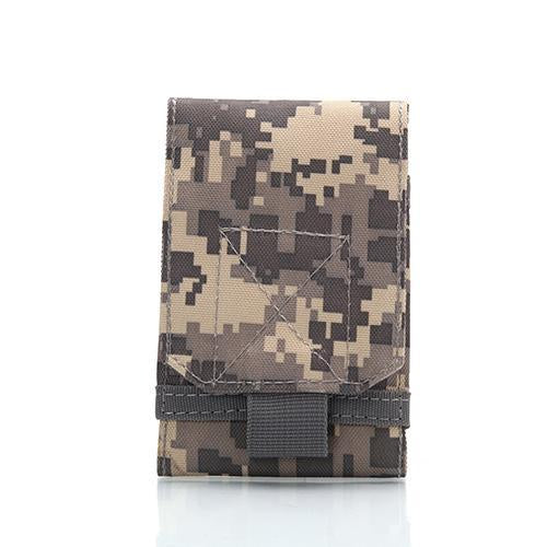 5.5-6.0 Inches Holster Molle Army Camo Camouflage Bag Hook Loop Belt Holster-To Be Well Store-5-Bargain Bait Box