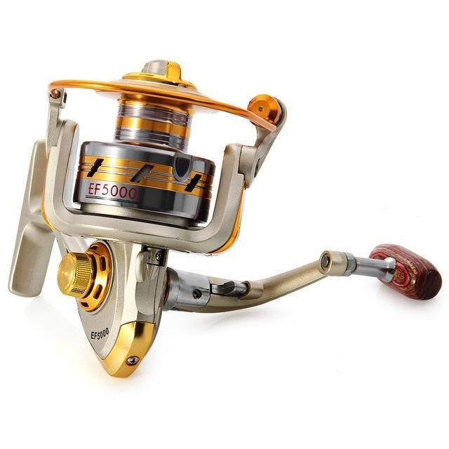 5.5:1 12Bb Ef500 - 7000 Series Aluminum Spool Superior Ratio Carretilha Pesca-Spinning Reels-YPYC Sporting Store-Style 2-1000 Series-Bargain Bait Box