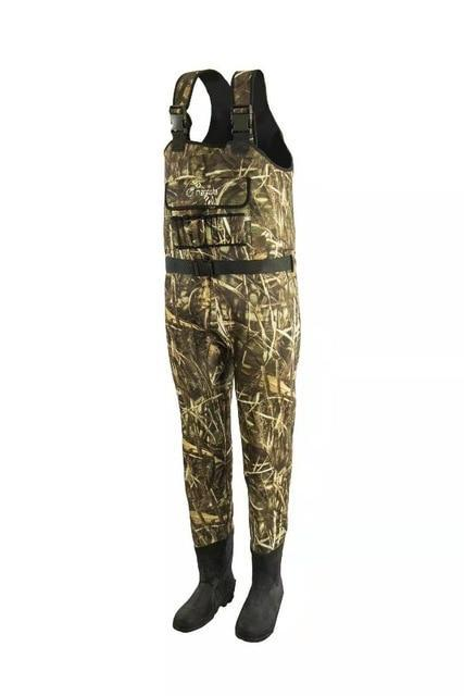 5Mm Neoprene Cold Water Men & Women Waterproof And Insulated Chest Waders With-Chest Waders-IMHANITE Official Store-Camo-S-8-Bargain Bait Box