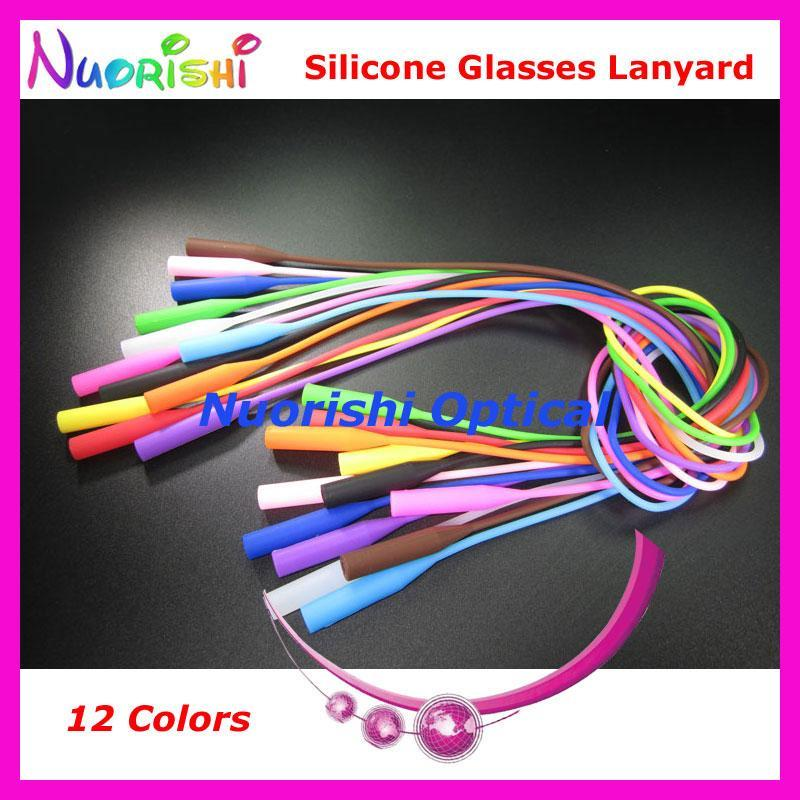 5Pcs L609 12 Colors Round Head Design Elastic Silicone Anti-Slip Eyeglass-Sunglass Accessories-Bargain Bait Box-Black only-Bargain Bait Box