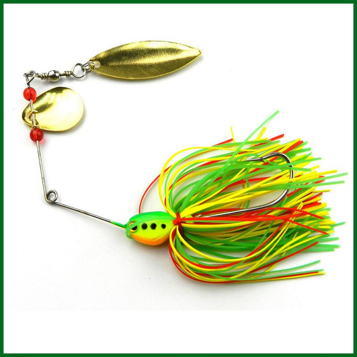 5Pcs Spinner Bait Metal Lure Hard Spinner Lure Spinnerbait Bass-Spinnerbaits-Bargain Bait Box-Bargain Bait Box