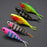 5Pcs Vib Split Tail Fish Bait 7.8Cm 9G Lead Fish Swim Tackle-Rigged Plastic Swimbaits-Bargain Bait Box-Bargain Bait Box