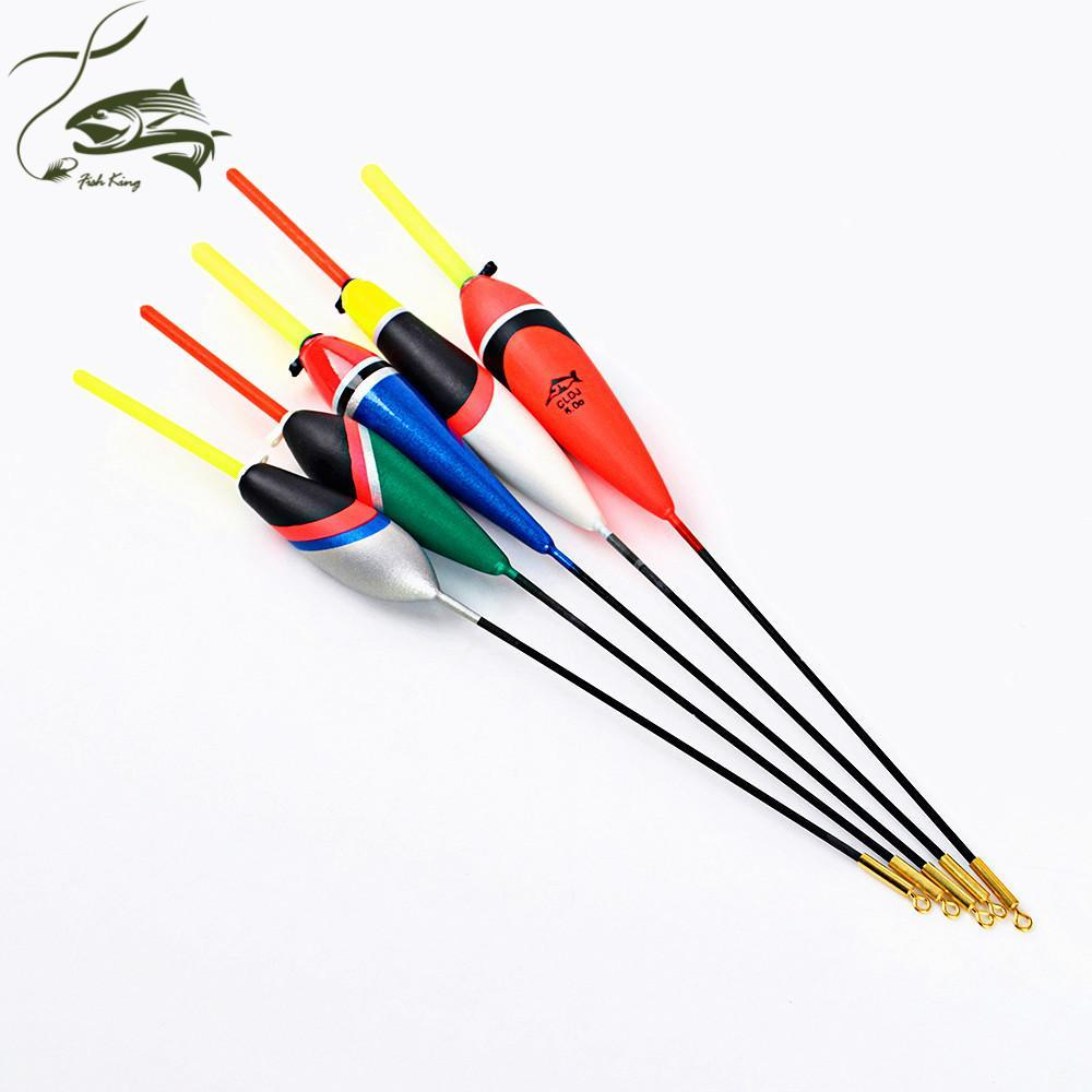 5Pcs/Lot 1G-5G Day Night Fishing Float With 4Pcs Glow Light Stick For Free-Glow Floats-Bargain Bait Box-3468005-Bargain Bait Box