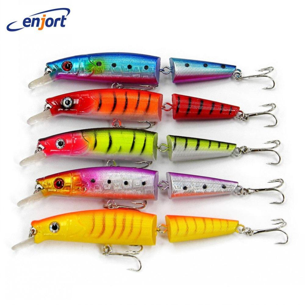 5Pcs/Lot,Jointed Lures 14Cm/20.2G 4# Hooks Big Game Lures For Minnow Lure Tackle-Hard Swimbaits-Bargain Bait Box-Bargain Bait Box