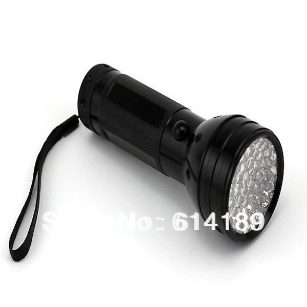 5W 51 Led 395Nm Shadowless Adhesive Curing Uv Flashlight 3Xaa-UV Curing Lights-Bargain Bait Box-Bargain Bait Box