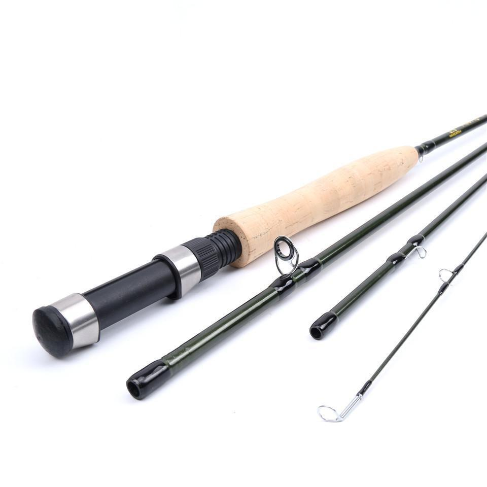 5Wt 4Pieces Medium-Fast Fly Fishing Rod Carbon Fiber Fly Rod-Fly Fishing Rods-Bargain Bait Box-Bargain Bait Box