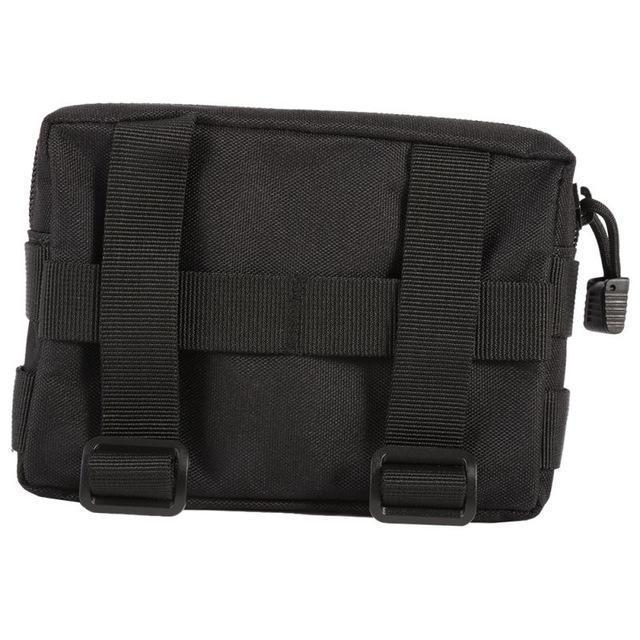 600D Nylon Airsoft Tactical Military Modular Molle Small Utility Pouch Edc Bag-Bags-Bargain Bait Box-black-Bargain Bait Box