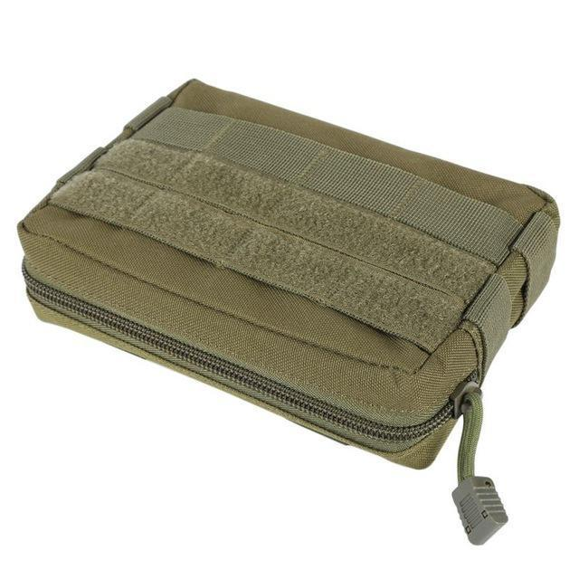 600D Nylon Airsoft Tactical Military Modular Molle Small Utility Pouch Edc Bag-Bags-Bargain Bait Box-green-Bargain Bait Box