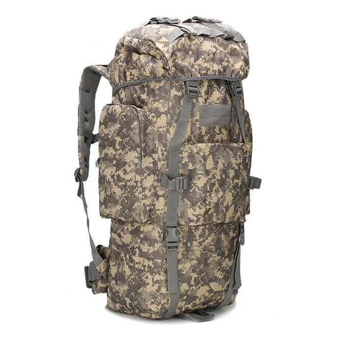 65L Large Capacity Bag Camping Bag Waterproof Cover Camo Backpack Fishing Bag-Backpacks-Bargain Bait Box-ACU Digital-Bargain Bait Box