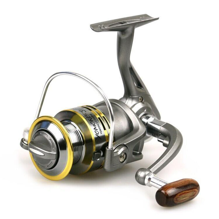 6Bb5.1: 1 Metal Spool Mini-Reel Coil Seawater Fighter Spinning Reel Fishing Tool-Spinning Reels-Sports fishing products-Bargain Bait Box