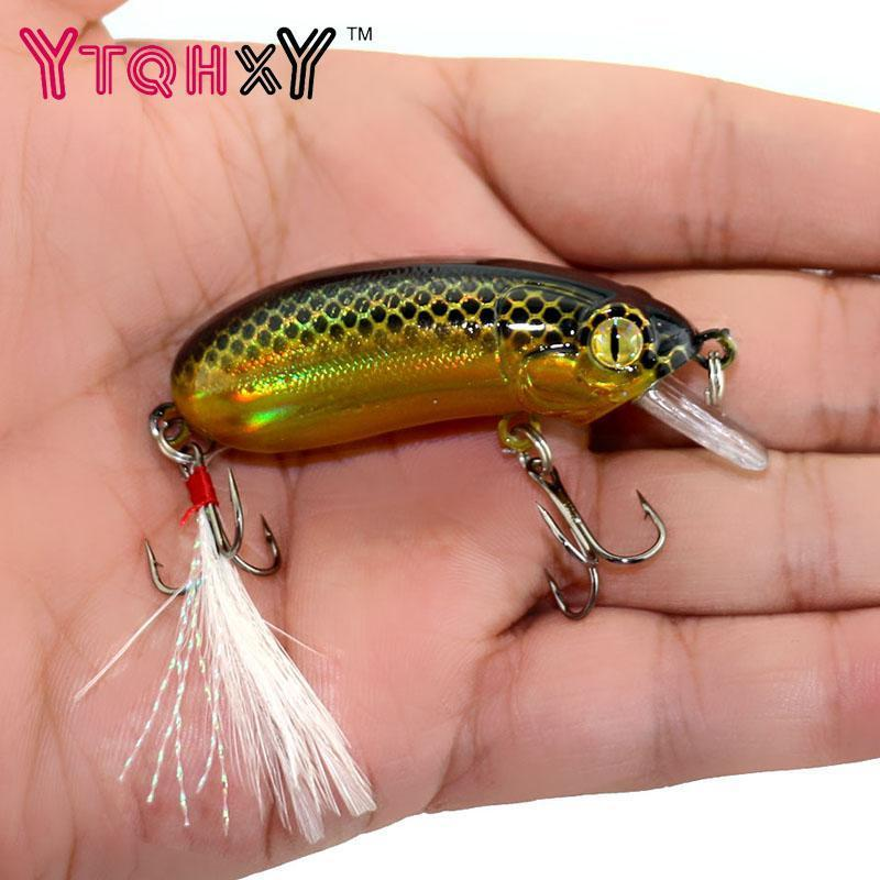 6Cm 10G Top Water Fishing Lures Crankbait Swimming Crank Baits Artificial-YTQHXY Fishing (china) Store-A-Bargain Bait Box