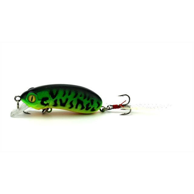 6Cm 10G Top Water Fishing Lures Crankbait Swimming Crank Baits Artificial-YTQHXY Fishing (china) Store-D-Bargain Bait Box