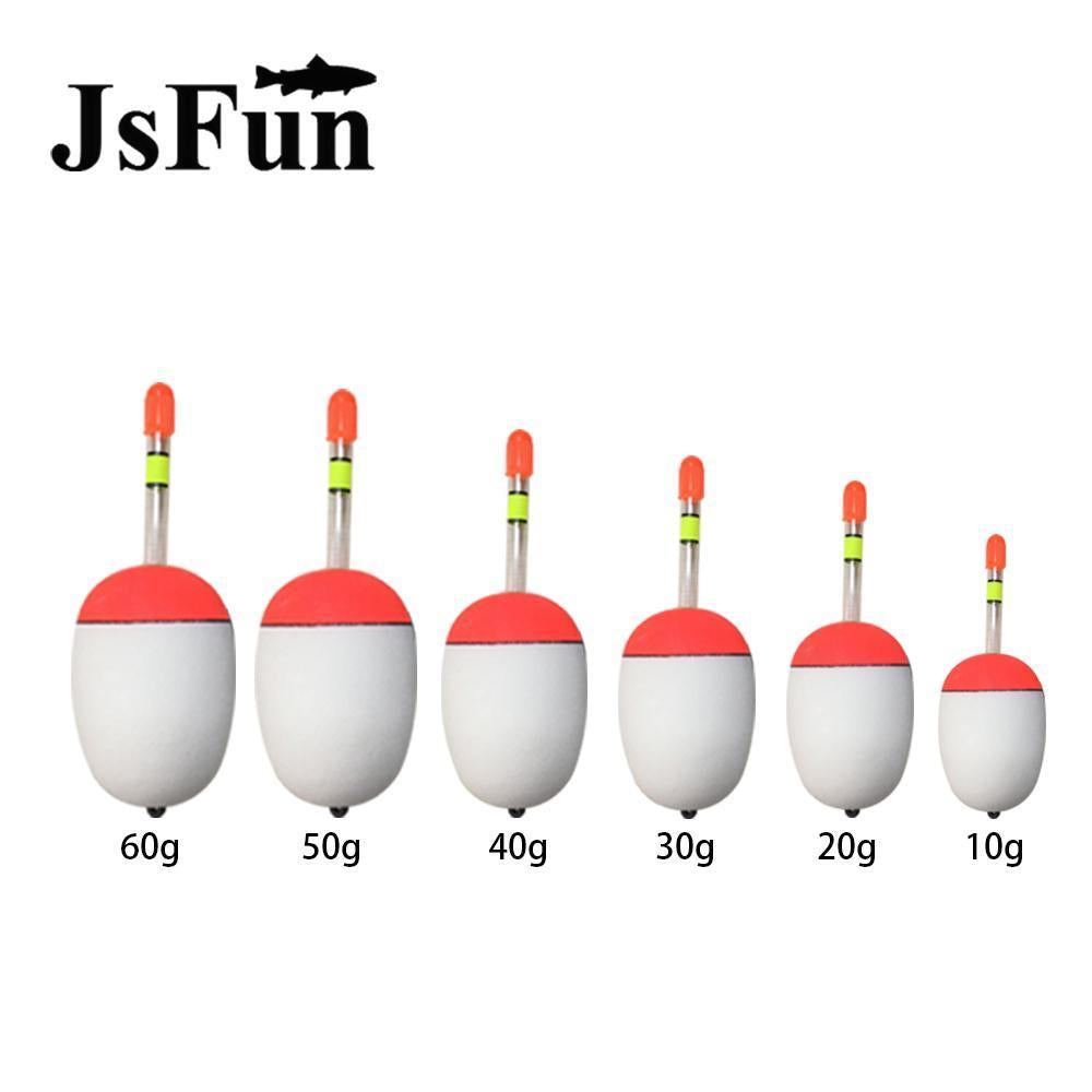 6Pcs/Lot 10G+20G+30G+40G+50G+60G Eva Foam Fishing Floats Ball Boia Float Set Sea-Fishing Floats-Bargain Bait Box-Bargain Bait Box