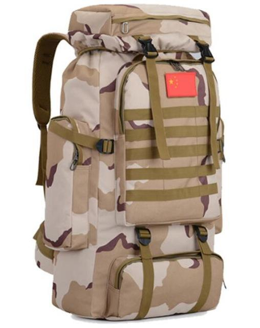70L 600D Camping Hiking Mountaineering Backpack Military Molle Camo Waterproof-Climbing Bags-Jeebel Camp Official Store-7-50 - 70L-Bargain Bait Box