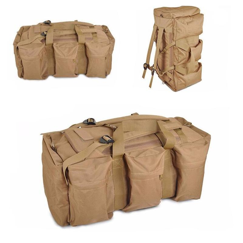70L Tactical Backpack Military Bags Camping Mountaineering Hiking Backpack  Men