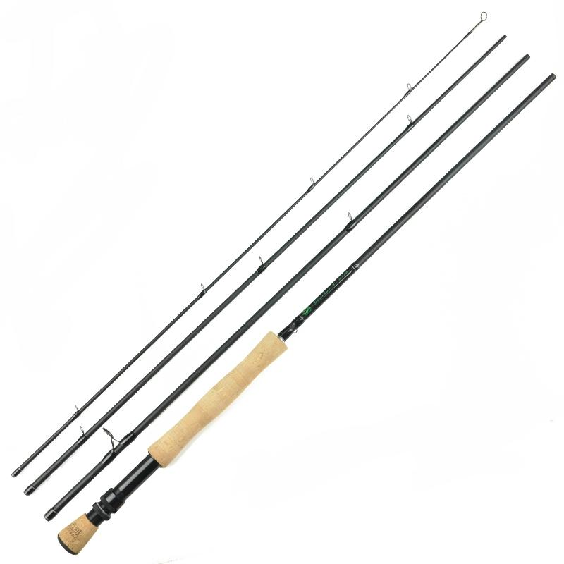 7Ft 2.1M #3/4 4 Sections Carbon Fly Fishing Rod Medium Fast Action Rod Fishing-Fly Fishing Rods-Bargain Bait Box-Bargain Bait Box