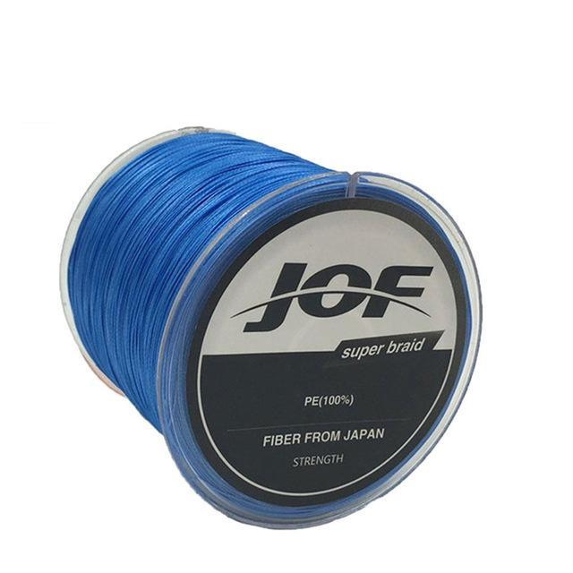 8 Strands 150M Super Strong Japan Multifilament Pe Braided Fishing Line Fly-KoKossi Outdoor Sporting Store-Blue-1.0-Bargain Bait Box