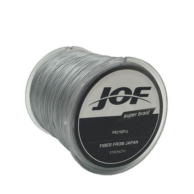 8 Strands 150M Super Strong Japan Multifilament Pe Braided Fishing Line Fly-KoKossi Outdoor Sporting Store-Grey-1.0-Bargain Bait Box