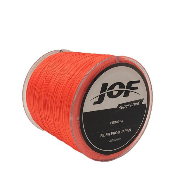 8 Strands 150M Super Strong Japan Multifilament Pe Braided Fishing Line Fly-KoKossi Outdoor Sporting Store-Orange-1.0-Bargain Bait Box