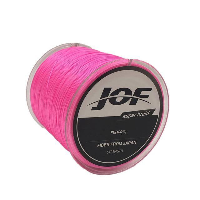 8 Strands 150M Super Strong Japan Multifilament Pe Braided Fishing Line Fly-KoKossi Outdoor Sporting Store-Pink-1.0-Bargain Bait Box