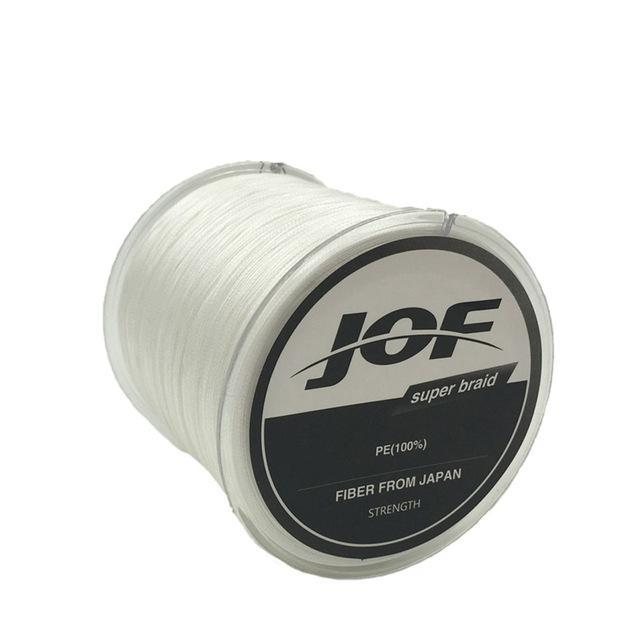 8 Strands 150M Super Strong Japan Multifilament Pe Braided Fishing Line Fly-KoKossi Outdoor Sporting Store-White-1.0-Bargain Bait Box