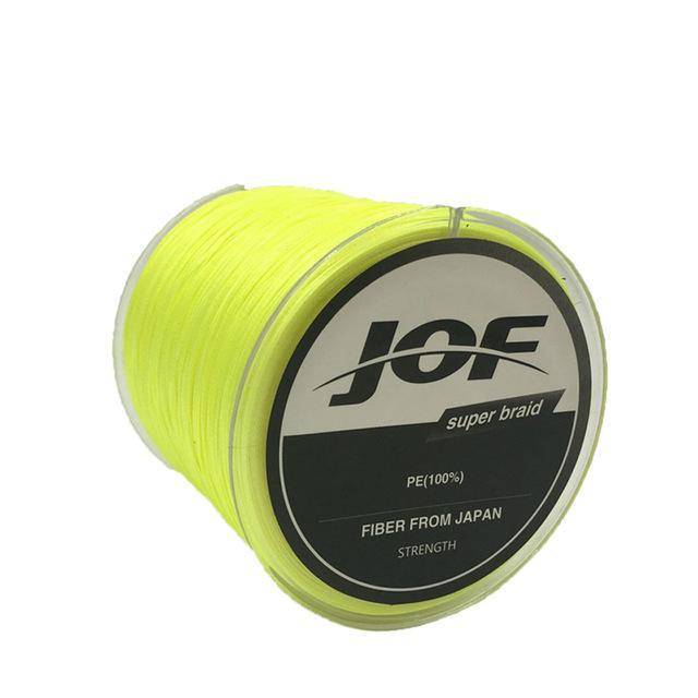 8 Strands 150M Super Strong Japan Multifilament Pe Braided Fishing Line Fly-KoKossi Outdoor Sporting Store-Yellow-1.0-Bargain Bait Box