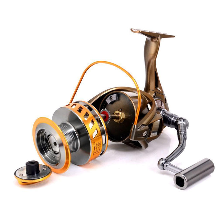 8000/9000Big Size Full Metal Spool Jigging Trolling Long Shot Casting For Carp-Spinning Reels-RedMeet Fishing Store-8000 Series-Bargain Bait Box
