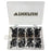 80Pcs/Lot Black Fishing Rod Guides Tip Tops Repair Kit Stainless Steel Ceramic-Fishing Rod Guides & Tips-Bargain Bait Box-Bargain Bait Box