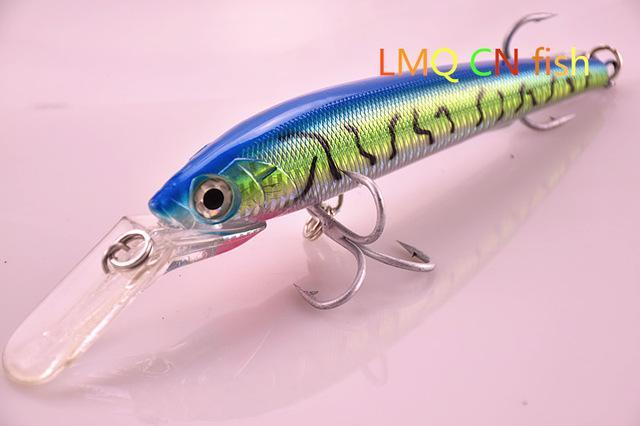 88G 180Cm Hard Fishing Lure Ultimate Big Game Lure Tight Wobble Slow Floating-Musky & Pike Baits-Bargain Bait Box-Blue-Bargain Bait Box