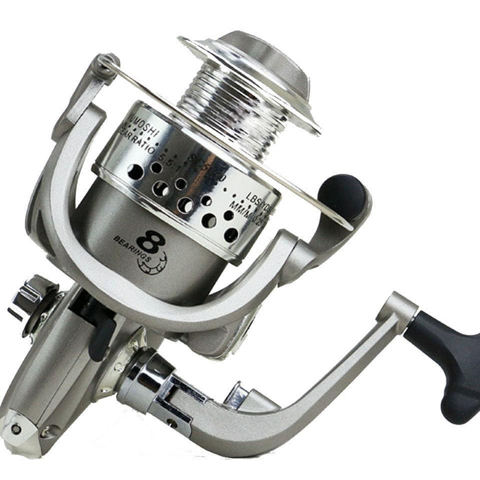 8Bb 1000-7000 Series Fishing Reels Plastic Base Spincast Reel In Disount Fishing-Spinning Reels-YPYC Sporting Store-1000 Series-Bargain Bait Box