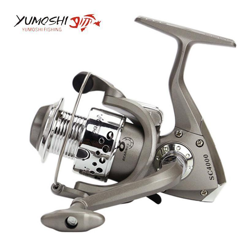 8Bb 1000-7000 Series Fishing Reels Plastic Base Spincast Reel In Disount-Spinning Reels-RedMeet Fishing Store-1000 Series-Bargain Bait Box