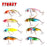 8Pcs/Lot Lure Flies Set 5.5Cm 3.2G 8 Colors Lures Kit Wq55Db-Hard Bait Kits-Bargain Bait Box-Bargain Bait Box