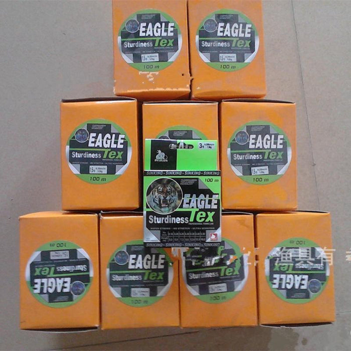 9# 10# 100M High-Quality Lure Fishing Lines Strong Carp Sinking Fishing Lines-Wolves Store-8.0-Bargain Bait Box