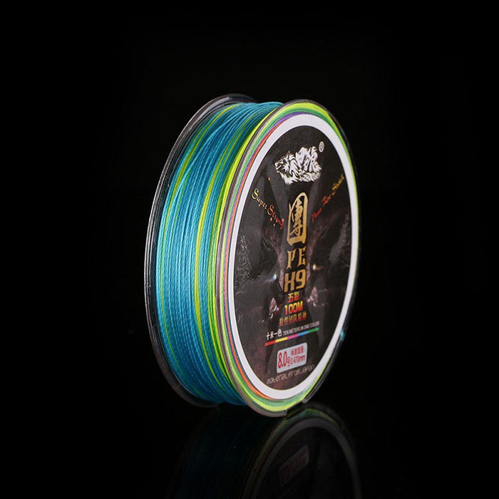 9 Strand 100M Pe Multifilament Braided Fishing Line Ocean Fishing Super Strong-LooDeel Outdoor Sporting Store-0.8-Bargain Bait Box