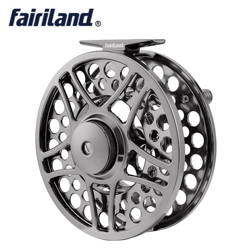 "9/11 110Mm//4.33"" 2Bb+1Rb Precision Machined Fly Reel From Bar-Stock Aluminum-Fly Fishing Reels-Bargain Bait Box-style A-3-Bargain Bait Box"