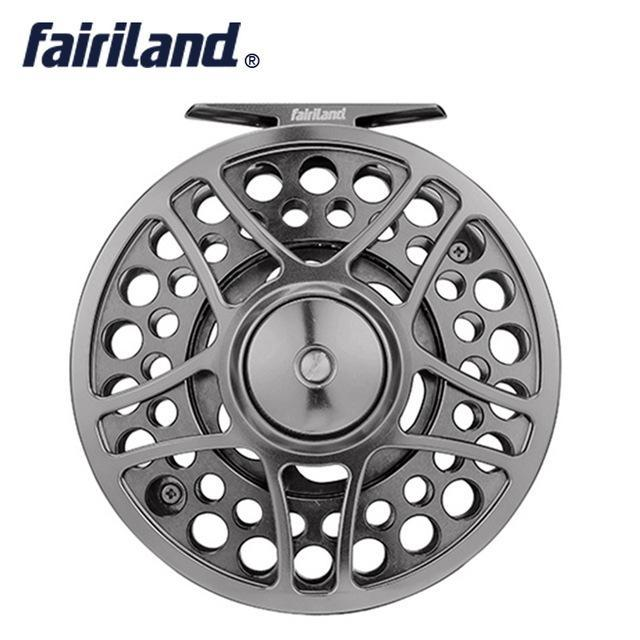 "9/11 110Mm//4.33"" 2Bb+1Rb Precision Machined Fly Reel From Bar-Stock Aluminum-Fly Fishing Reels-Bargain Bait Box-style D-3-Bargain Bait Box"