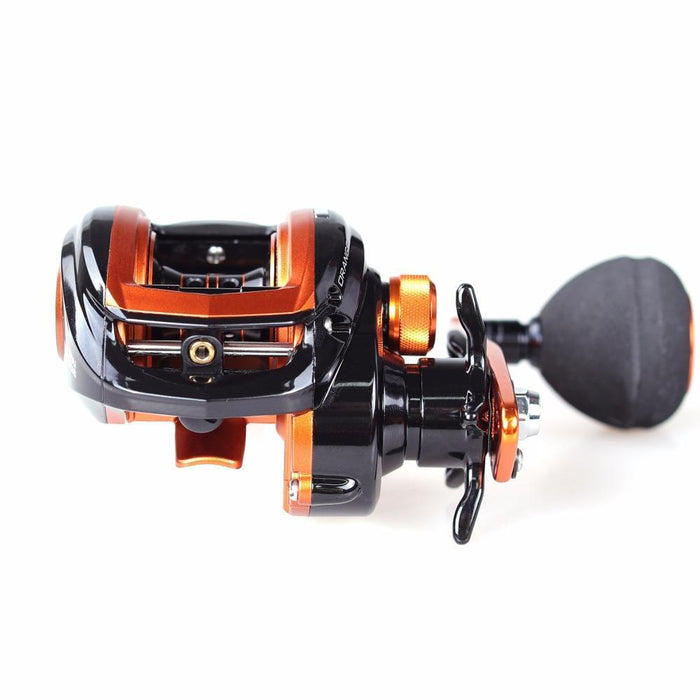 Abu Garcia Brand Orange Max3 Right Left Hand Fresh Sea Water Baitcasting Reel-Baitcasting Reels-Target Sports-left hand-Bargain Bait Box