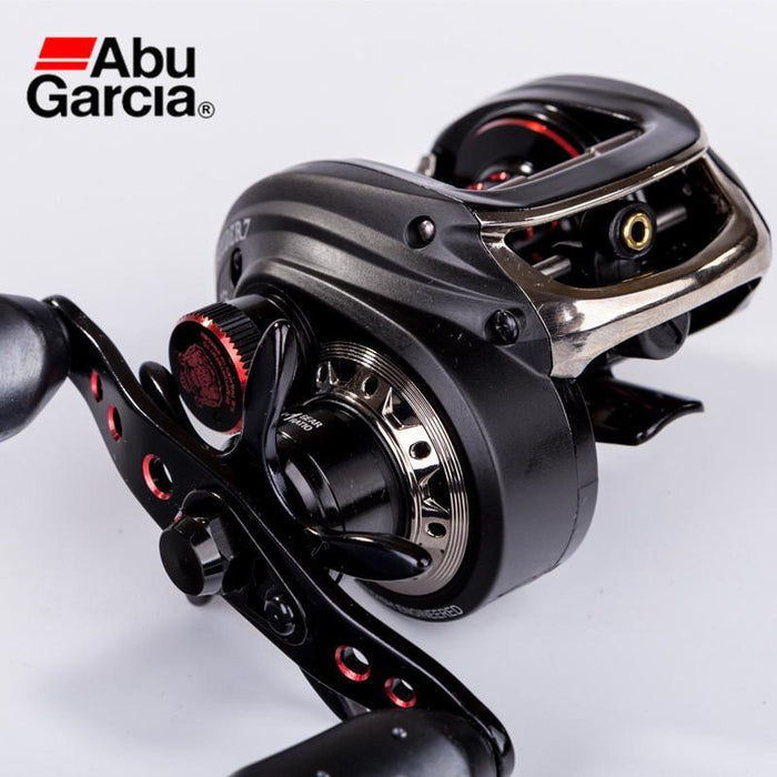 Abu Garcia Decider7 Shallow Spool Baitcasting Fishing Reel Left Right Hand Water-Baitcasting Reels-Cycling & Fishing Store-Left Hand-Bargain Bait Box