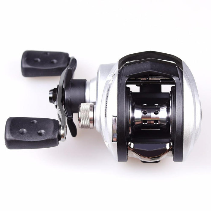 Abu Garcia Silver Max 3 Baitcasting Fishing Reel 6.4:1 Right Left Hand Bait-Baitcasting Reels-AOTSURI Fishing Tackle Store-Right Handed Version-Bargain Bait Box